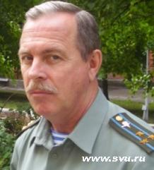 Начальник Ульяновского СВУ полковник Владимир Шкирков
