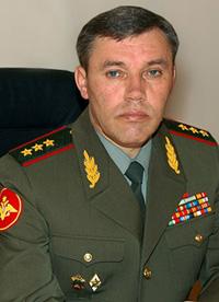Командующий Московским военным округом генерал-полковник Валерий Герасимов
