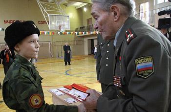 Сегодня в Казанском Суворовском военном училище состоялось торжественное мероприятие