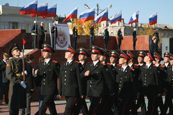 В Чите открылось суворовское училище МВД РФ