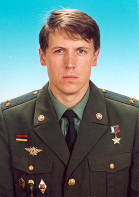 Герой Российской Федерации Владимир Валерьевич Захаров