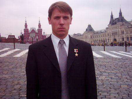 Герой России подполковник Захаров Владимир Валерьевич