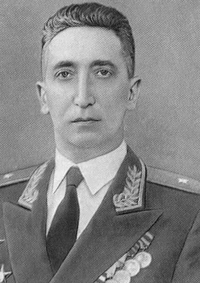Генерал-майор Филиппов Михаил Михайлович (декабрь 1955 г. - ноябрь 1957 г.)