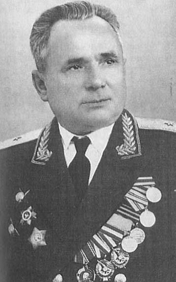 Генерал-майор Раков Степан Семенович (январь 1958 г. - октябрь 1966 г.)